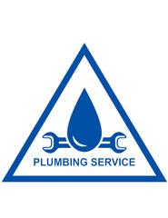 symbol of plumbing service