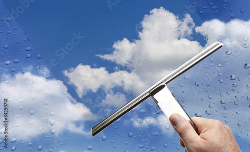 canvas print picture Regenwetter © Matthias Buehner