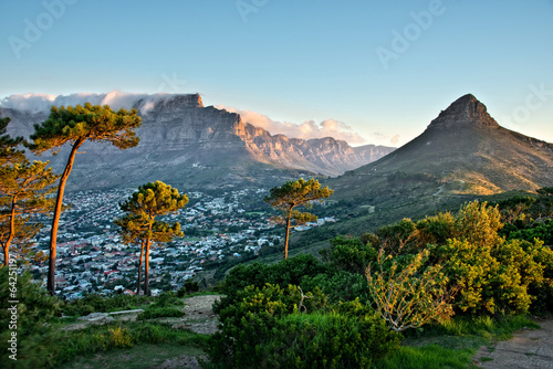 Foto op Canvas Zuid Afrika Signal Hill, Cape Town, South Africa