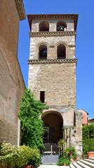 Tivoli antica - Campanile di San Pietro alla Carità