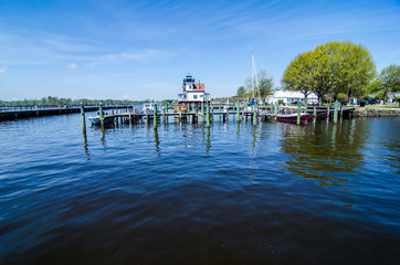 waterfront downtown of edenton nc