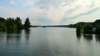 Lake in the Leningrad region