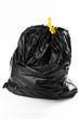 Sacchetto di spazzatura nero