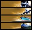 Logistics Banners - 64252789