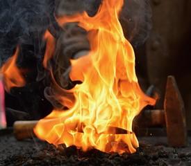 Blacksmith furnace
