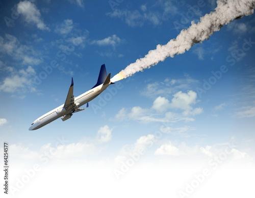Leinwandbild Motiv Air crash