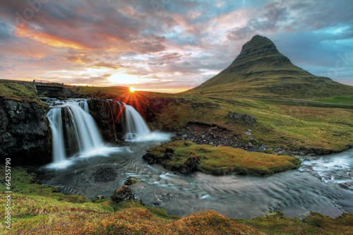 Staande foto Scandinavië Iceland
