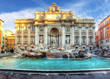 Trevi Fountain, rome, Italy.