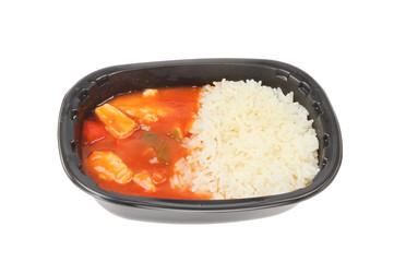 Microwave meal