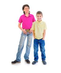 Group of children posing