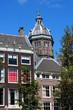 Amsterdam mit Sint Nicolaaskerk