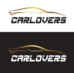 Car Lovers Gold Black