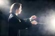 Orchestra conductor inspired maestro - 64258169