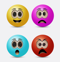 round emoticons