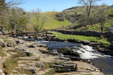 River running through the Dales
