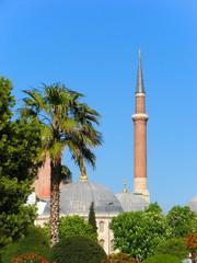 Minaret of Hagia Sophia