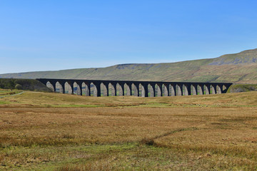 The Ribbledale Viaduct in the Yorkshire Dales