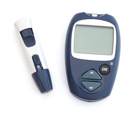 Glucometer and a punch
