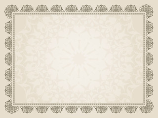 Decorative Certificate background