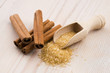cinnamon with brown sugar