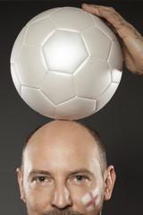 Mann Fussball Fussballfan