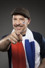 Fussball Fan Frankreich