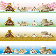 seasons of villages 四季の農村