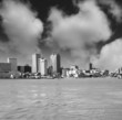 Wonderful skyline of New Orleans from Mississippi river - Louisi