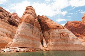 Massive Lake Powell Rock Formations