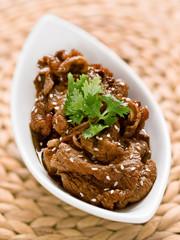 korean grilled bulgogi beef