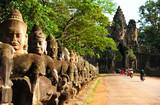 Angkor Temple in Cambodia