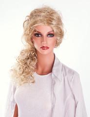 fashion mannequin, dummy