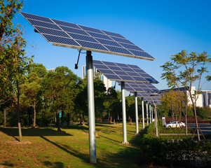Park green energy solar power system