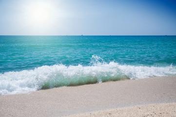 sea wave on the coast