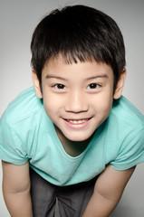 Portrade Of asian cute boy