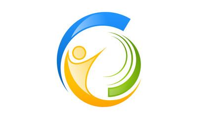 success logo in circle