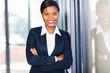 african american businesswoman closeup