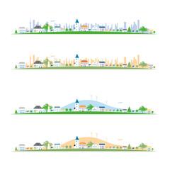 街の風景-横長420