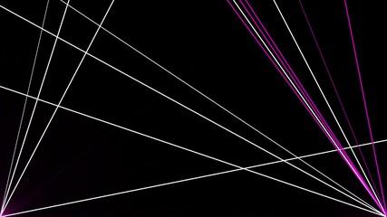 движение лазерныч лучей