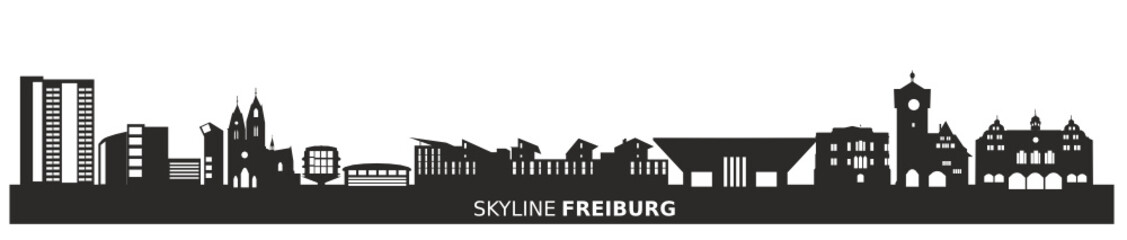 Skyline Freiburg am Breisgau