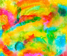Abstract colored blobs background