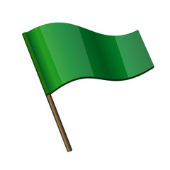 Green Curl Flag Icon