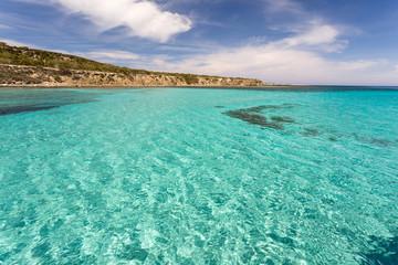 Lagon Blue lagoon de Chypre