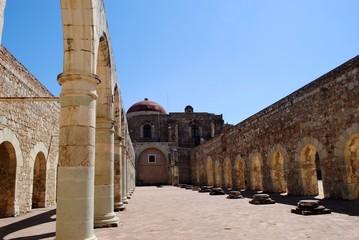 Convento de Cuilapam, interior
