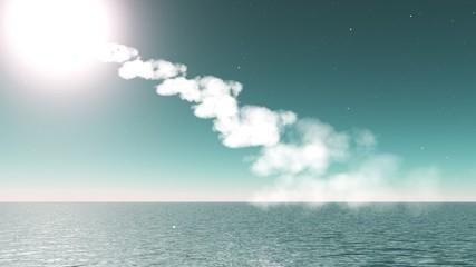 nuage qui monte