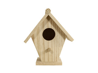 Small Birdhouse Isolated