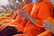 Monks of the religious rituals, Buddhist ceremony - 64278766