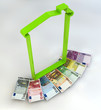 Casa spesa tassa Imu soldi banconote euro
