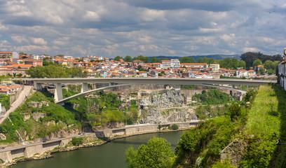 Infante D. Henrique Bridge in Porto, Portugal