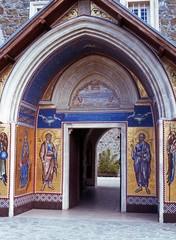 Kykko Monastery doorway, Cyprus © Arena Photo UK